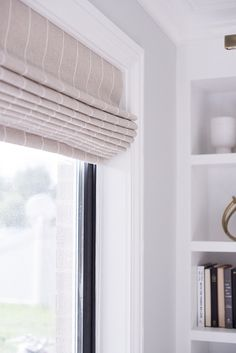 Need a little help and direction selecting window treatments for your home? We've got your back! Consider this your complete buying guide to roman shades. Custom Drapes, Window Shades, Blackout Roman Shades, Bathroom Windows, Window Coverings, Roman Curtains, Small Rooms, Roman Shades Living Room, Curtain Designs