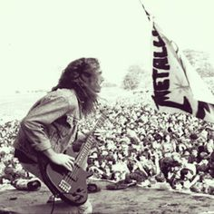 Cliff Burton!! Metallica