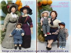 Maria Narbon - porcelain figures using original molds