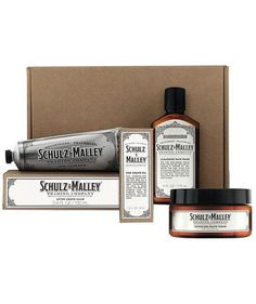 Schulz & Malley Gentlemen's Daily Routine Grooming Kit | Find unique ideas sure to thrill all of the men in your life from our 2016 Christmas and Holiday Gift Guide.