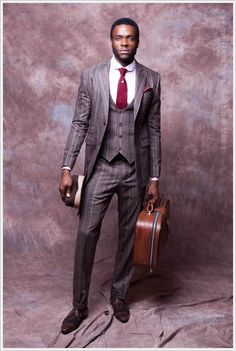 Emerging African Fashion Designer Is Raising The Bar For Menswear Fashion. Tailored Suites And Exquisite Colors Is A Sure Show Stopper. Dapper Gentleman, Gentleman Style, Dapper Man, Modern Gentleman, Sharp Dressed Man, Well Dressed Men, Fashion Mode, Mens Fashion, Hipster Fashion