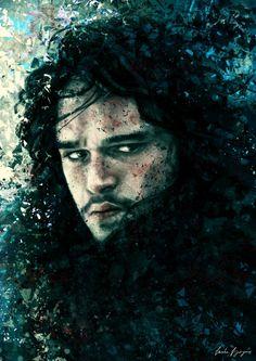 'Jon Snow'  Facebook : https://www.facebook.com/ToSlashATwistedLine  Tumblr : http://varshavijayan.tumblr.com/ Deviantart : http://slashaline.deviantart.com