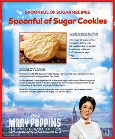 Spoonful of Sugar Cookies