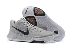 meet 38ef9 b9934 Hot Sale Nike Kyrie 3 Cool Grey Wolf Grey Black Orange Cheap - Click Image  to Close
