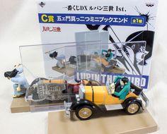 Lupin the 3rd Goemon Mini Figure Bookend Banpresto JAPAN ANIME MANGA