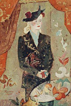 Ľudovít Fulla - Portrét umelcovej manželky