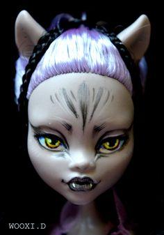 https://flic.kr/p/yrcizd | W.5 OOAK Monster High doll Clawdeen Wolf