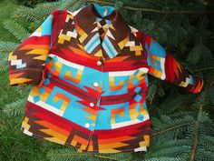 baby pendelton jacket - see kids can be fashionable