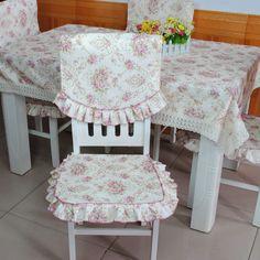 Meijia masa örtüsü zarif kumaş yemek masa örtüsü yemek sandalye seti minder sandalye kapsar moda rustik(China (Mainland))