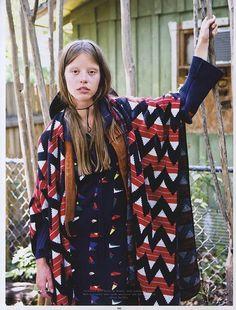 Mia Goth Dazzles in Wonderland Magazine (Sept/Oct '13)  Photographer: Ben Rayner
