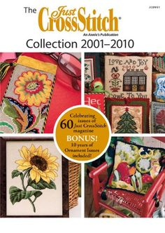 Just Cross Stitch Magazine on CD plus ornament issues for 10 years
