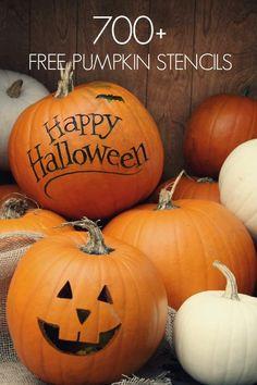 Pumpkin Carving ideas of Ghosts and other fun Halloween Creatures for halloween decoration. Look at the (PUMPKIN CARVING) ideas and create your own Fröhliches Halloween, Holidays Halloween, Halloween Pumpkins, Halloween Decorations, Halloween Quotes, Halloween Labels, Halloween Pictures, Vintage Halloween, Halloween Makeup