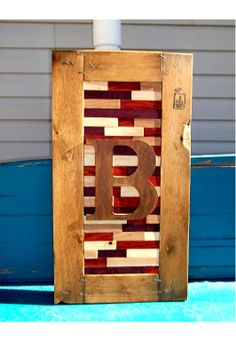 frame from a pallet/box, hard-wood inside