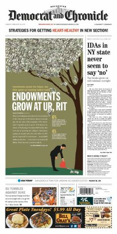 Endowments from the Rochester D&C. Design by Abby Westcott