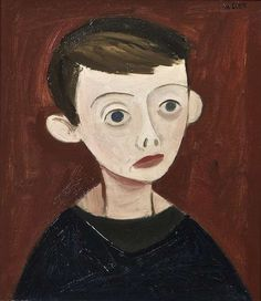 William Scott RA (1913-1989) Robert (1947) Oil on canvas, 40.5 x 35.5cm (16 x 14''). Previously on sale at Adam's. www.adams.ie