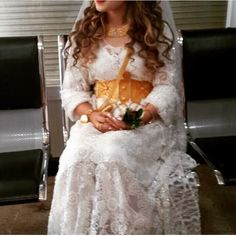 Kurdish Wedding Dress❤ Lace Wedding, Wedding Dresses, Kurdistan, Headgear, Brides, Costumes, Instagram Posts, Photos, Accessories