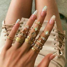 BLUE ZIRCON Sterling Silver size 4 Swirl Toe Ring Pinkie Knuckle Thumb Midi Summer Beach Body Jewelry Anniversary Promise handmade