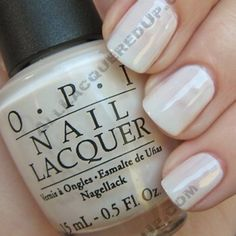 """""""funny bunny"""" by OPI."""