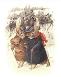 Bunnies in Winter