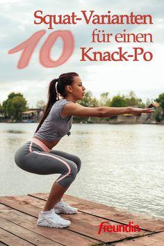 Diese einfache Fitness-Übung ist super effektiv, wenn Sie sich einen Knack-Po wünschen. Hier finden Sie verschiedene Varianten Full Body Weight Workout, Whole Body Workouts, Body Workout At Home, Workout List, Gym Workouts, At Home Workouts, 7 Minute Workout, Strength Workout, Workout Programs