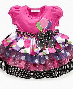 Bonnie Baby Dress, Baby Girls Birthday Tutu Dress - Kids Baby Girl (0-24 months) - Macy's