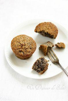 Un dejeuner de soleil: Gâteau aux noisettes et au pavot (sans gluten)