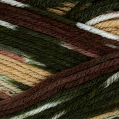 Deborah Norville Everyday Prints Yarn 16 Oak Moss Love this yarn! Got at Joann Fabric