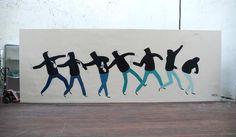 Mural Paintings by Escif   Cuded