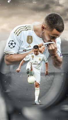 Ronaldo Real Madrid, Real Madrid Football, Neymar Football, Football Players, Eden Hazard, Hazard Real Madrid, Football Design, James Rodriguez, Sports Wallpapers