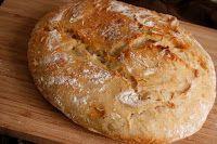 Μαγειρική και κατασκευή Ξυλόφουρνου: Χωριάτικο ψωμί με προζύμι.