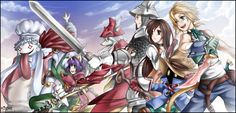 Final Fantasy 9. Heros of Gaia by Rueme