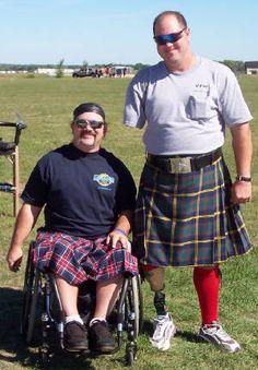Adaptive Highland Games