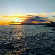 Sunset at #englishbaybeach #Vancouver