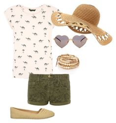 camel.up by chewbie on Polyvore featuring polyvore fashion style Current/Elliott Rocket Dog Chan Luu Wildfox clothing