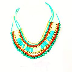 Handcrafted Multistrand Choker Party-Wear Women Necklace Fashion Jewellery