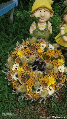 Teddy Bear, Wreaths, Fall, Animals, Design, Home Decor, Autumn, Animales, Decoration Home