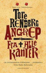 """Bøker og produkter for """"Angrep fra alle kanter, Tore Renberg"""" Calm, Roman"""