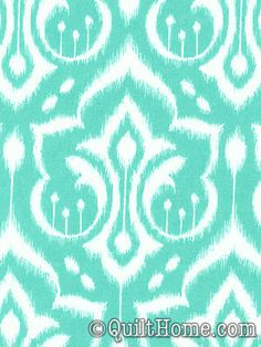 Emma's Garden PS6450-MINT Fabric by Patty Sloniger