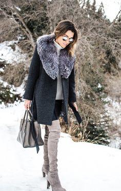 Schöner Winter-Look!