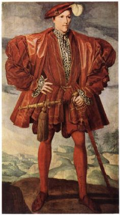 An Unknown Man by an Unknown Artist, c.1548. (The Royal Collection)
