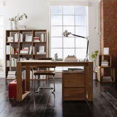 Schreibtisch Nature - aus Sheesham-Holz