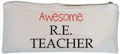 Awesome R.E. Teacher Pencil Case