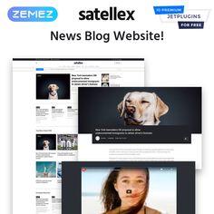 News Blog Multipurpose Classic WordPress Theme Types Of Websites, Joomla Themes, Security Logo, Change Image, Beauty Book, Professional Website, Free News, Drupal, Website Themes