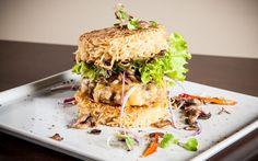 Hambúrguer de miojo - Receitas - iG