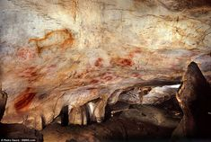Paintings made by blowing paint onto the wall in the El Castillo cave proved to date back to at least 40,800 years. This makes them the oldest known cave art in Europe - up to 10,000 years older than previous examples from France.