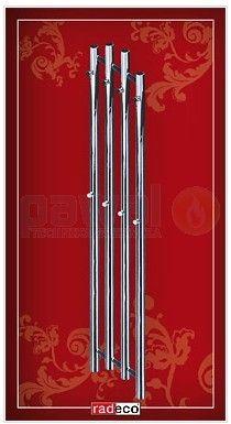 RADECO TUBO Color ral 290x1620mm TUBO Design csőradiátor / Radiátor