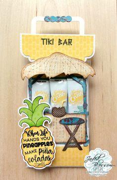 The Cricut Bug: Tiki Bar Drink Stick Holder