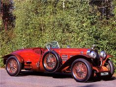 1924 Hispano Suiza H6C Tulipwood Torpedo by Nieuport - The torpedo tail enclosed a 46-gallon gas tank for long distance racing. In 1924 Dubonnet entered the Hispano-Suiza in the Sicilian Targa Florio and he finished sixth; he also finished fifth in the Coppa Florio and first in the over-4.5-liter class.