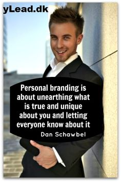 """BuzzLead. Personlig Branding 2.0.     """"As a brand, you are your own free agent: you have the freedom to create the career path that links your talents and interests with the right position and the ability to move both vertically and horizontally, now and throughout your career."""""""