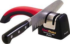 Chef's Choice - Diamond Hone Manual Knife Sharpener - Silver